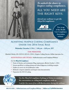 #KeysToCompliance full flyer
